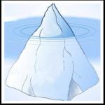 Eisberg Wissenswürfel