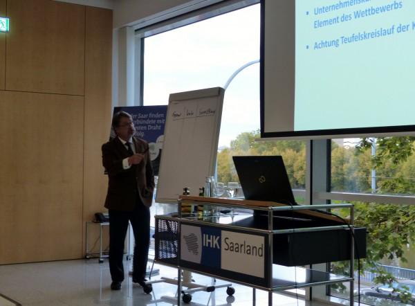 Abschlussveranstaltung Offensive Mittelstand - Gut für das Saarland 2014