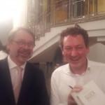 Joachim Berendt mit Eckart von Hirschhausen